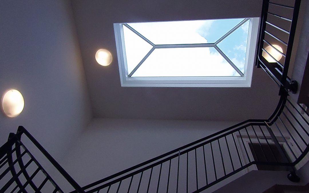 Luchtdicht bouwen met dakkoepels